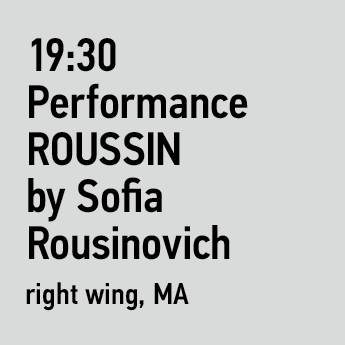 ROUSSIN by Sofia Rousinovich FW18-19